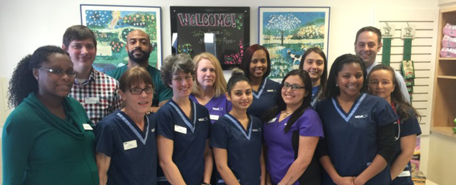 Homepage Team Picture of VCA Timberlyne Animal Hospital