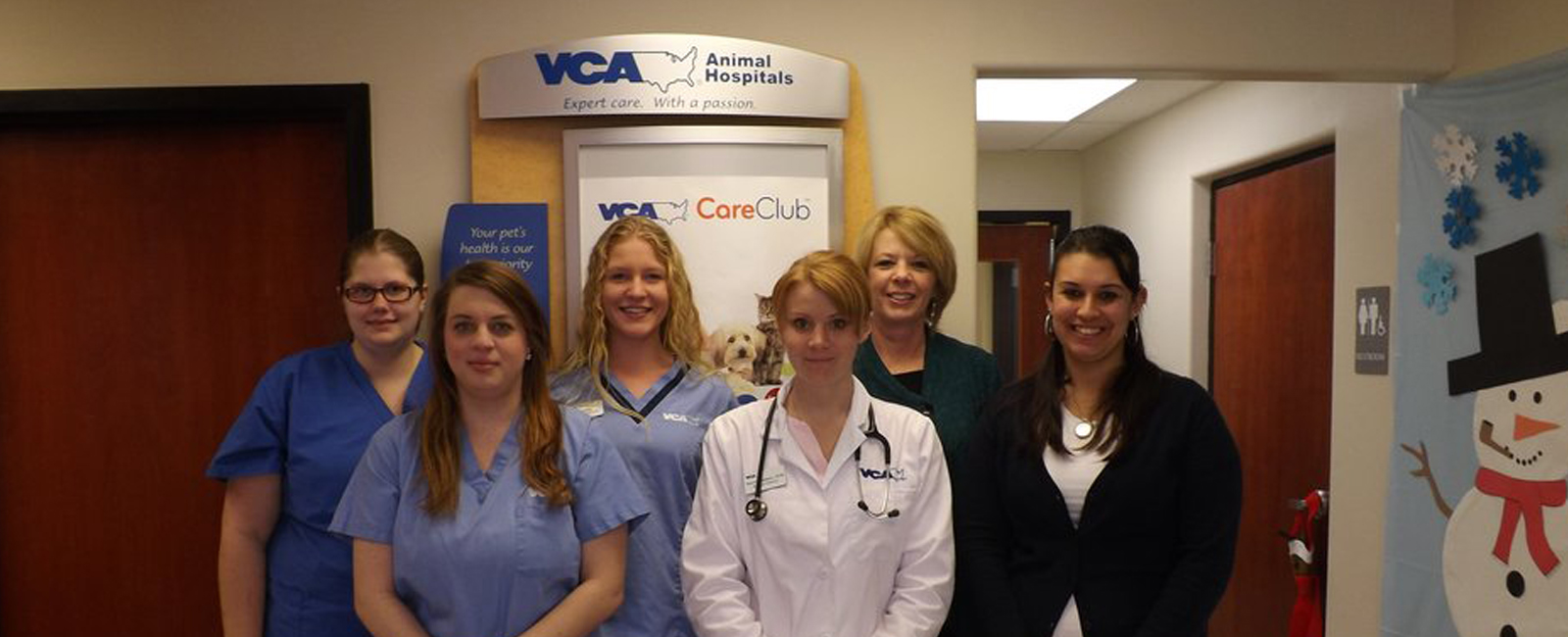 Homepage Team Picture of  VCA Total-Care Animal Hospital