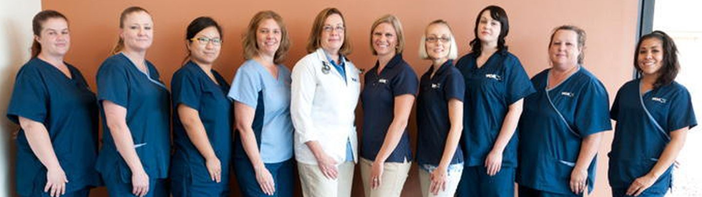 Team Picture of VCA Tri-City Animal Hospital and Acacia Cat Hospital