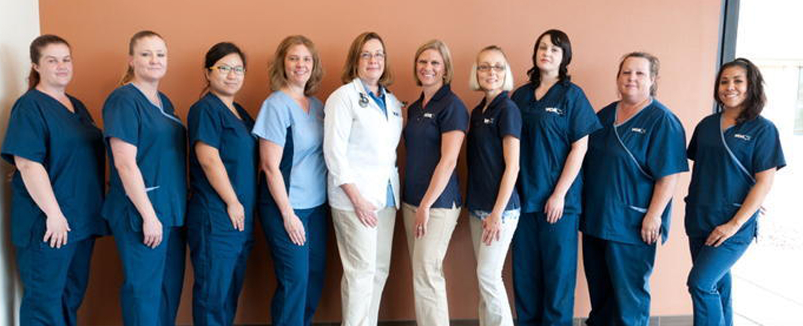Homepage Team Picture of  VCA Tri-City Animal Hospital and Acacia Cat Hospital