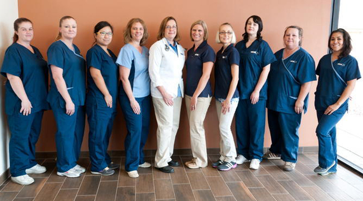 Team Picture of VCA Tri City Animal Hospital and Acacia Cat Hospital