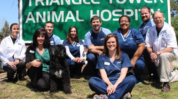 Team Picture of VCA Triangle Tower Animal Hospital