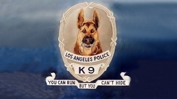Los Angeles Policy K9 Patrol Unit