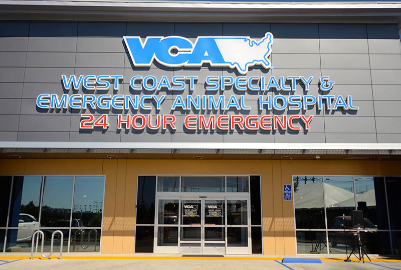 VCA West Coast Specialty and Emergency Animal Hospital