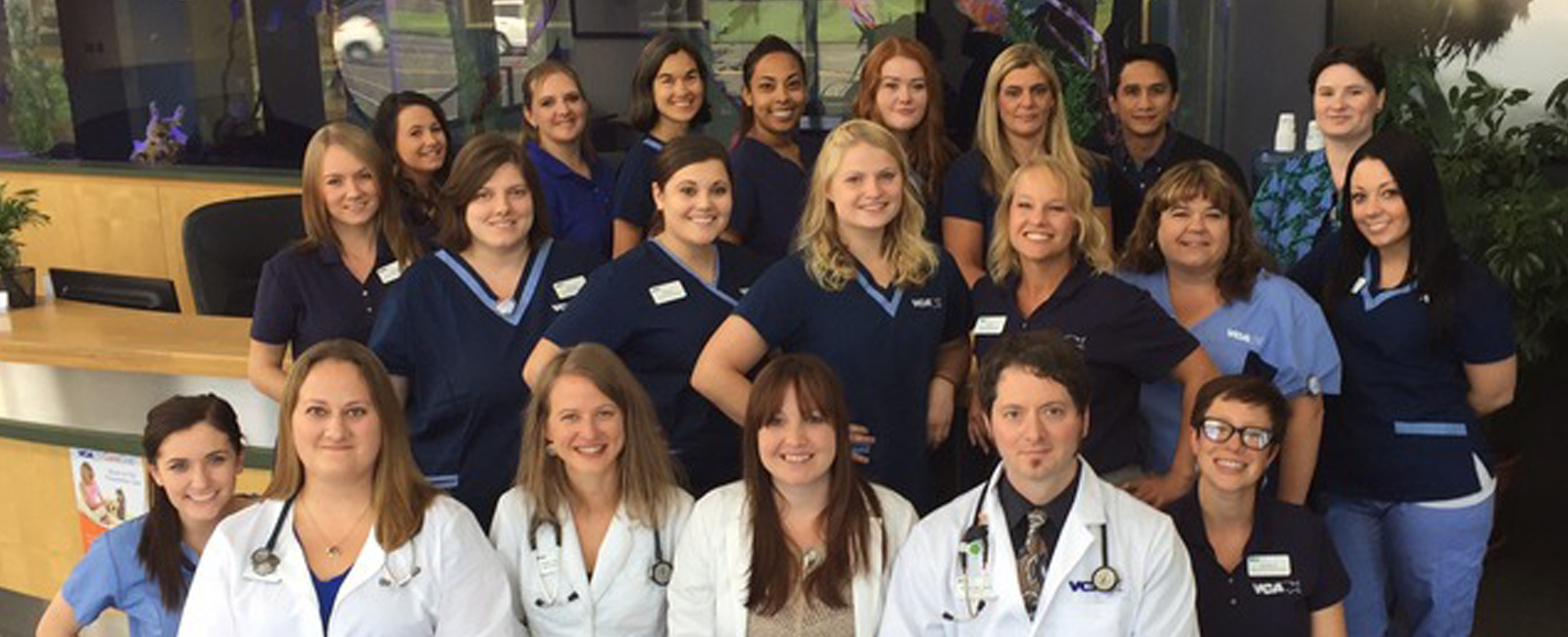 Homepage Team Picture of VCA Westmoreland Animal Hospital