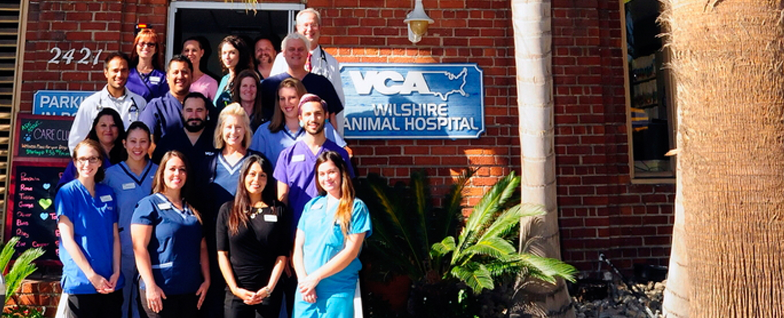 Homepage Team Picture of  VCA Wilshire Animal Hospital