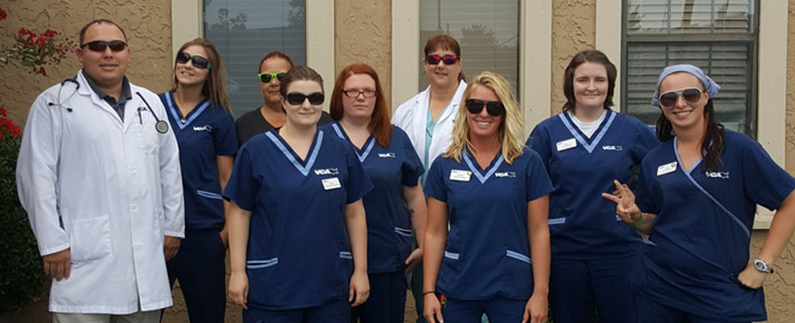 Homepage Team Picture of VCA Woodland Broken Arrow Animal Hospital