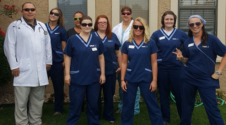 Team Picture of VCA Woodland Broken Arrow Animal Hospital