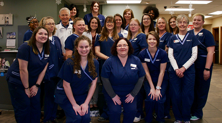 Homepage Team Picture of VCA Woodland Central Animal Hospital