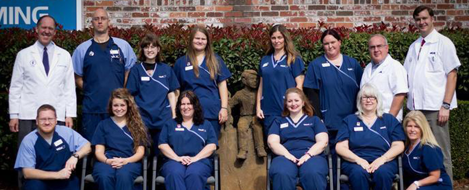 Homepage Team Picture of VCA Woodland East Animal Hospital