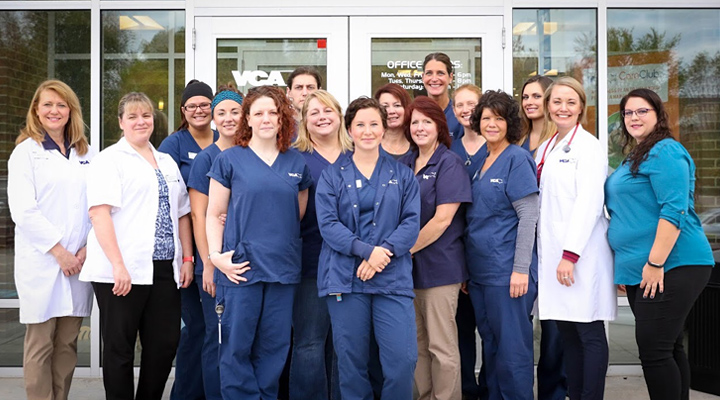 Homepage Team Picture of VCA Woodland Animal Hospital